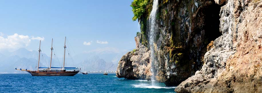Day 3 : Full day Antalya city sightseeings and waterfalls tour (Antalya)