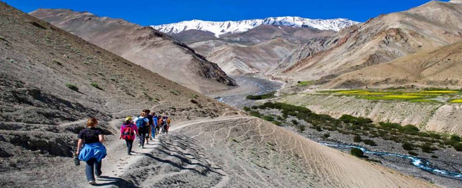 Day 8 :  Shingra Koma to Tilad Do and Drive to Leh a Trek of 10Kms