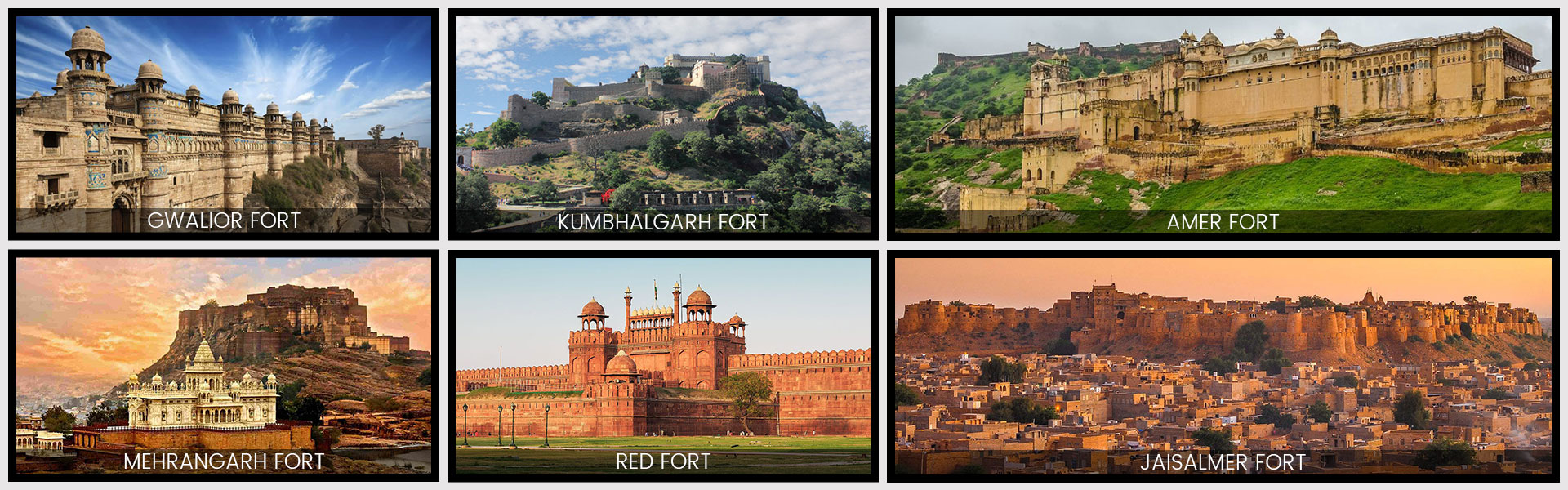 Classical Forts and Palaces