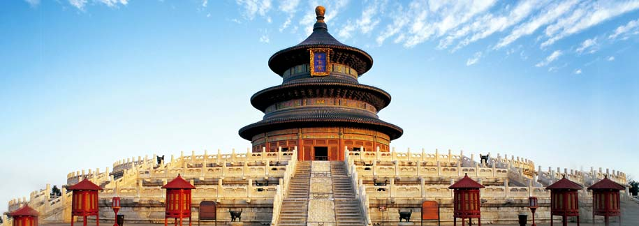 Day 2 :  Full day tour Tiananmen Square and Forbidden City, jade factory,silk factory and Temple of Heaven (Beijing)